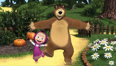 """أكثر مسلسلات الأطفال شعبية في العالم.. كيف حقق """"ماشا والدب"""" الروسي هذا النجاح؟"""