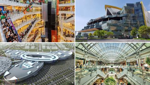 بالصور: تعرفوا إلى أكبر 10 مراكز تسوق عملاقة في العالم
